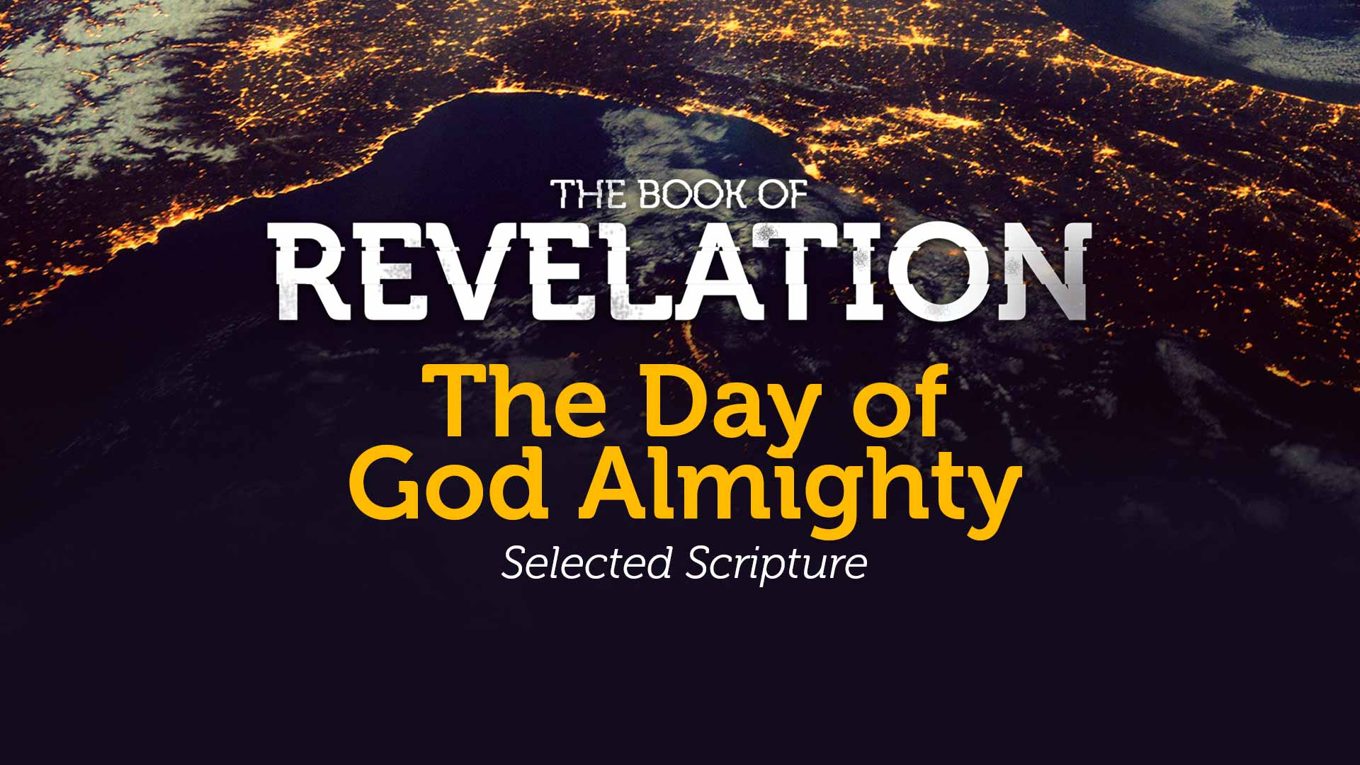 The Great Day of God Almighty